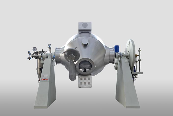 italvacuum rotary vacuum dryer